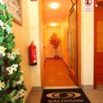 Apartmaji Budinek - vhod v apartmaje